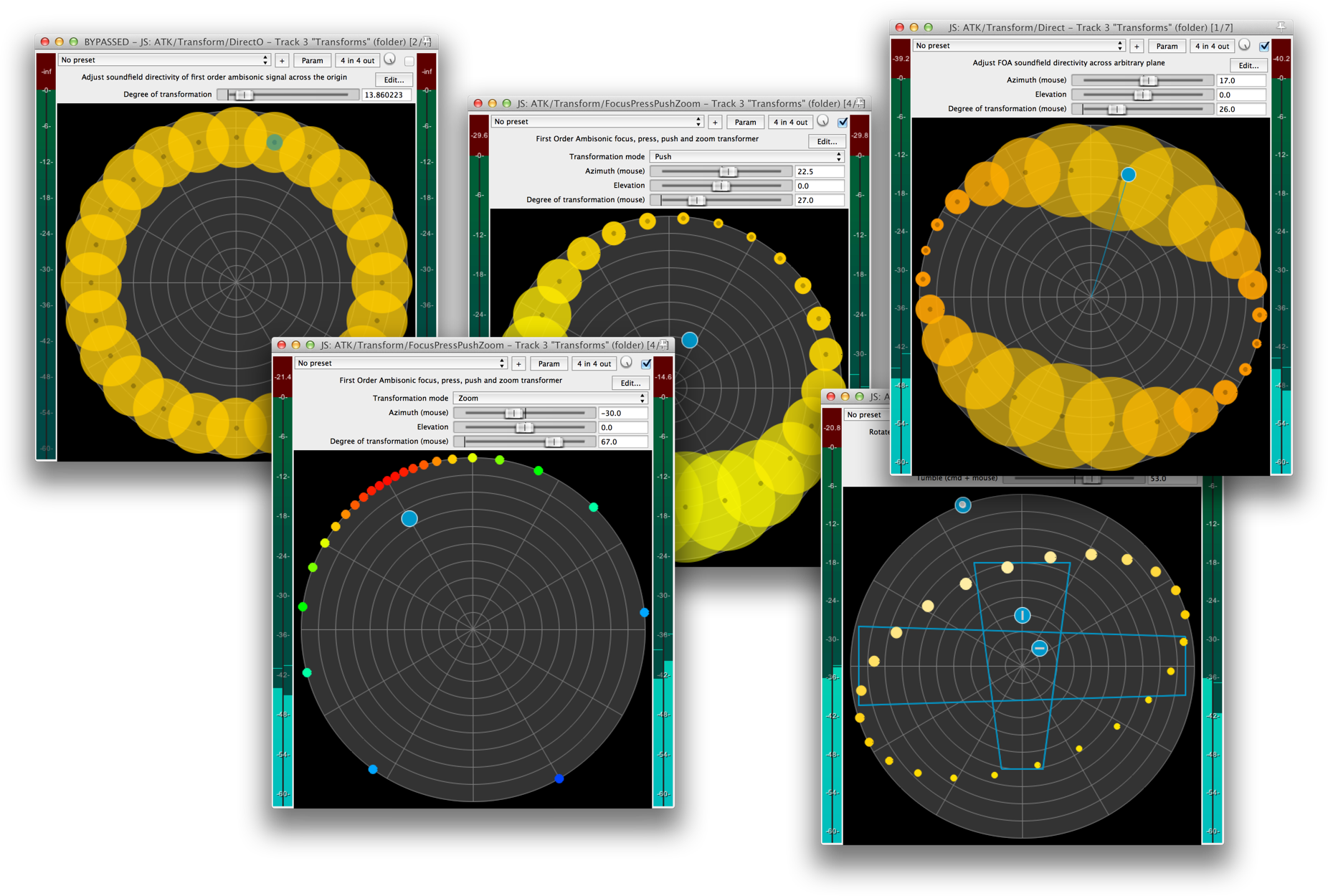 The Ambisonic Toolkit - Tools for soundfield-kernel composition